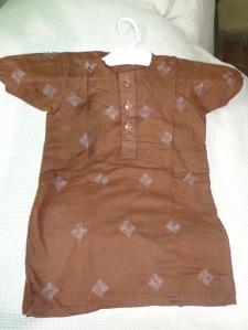 Embroidered handmade dressess b1