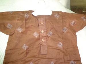 Embroidered handmade dressess b5