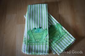 frog kitchen towels