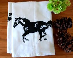 horse kitchen towels