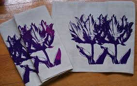 purple kitchen towels