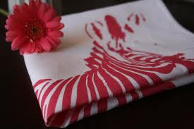 zebra print kitchen towels
